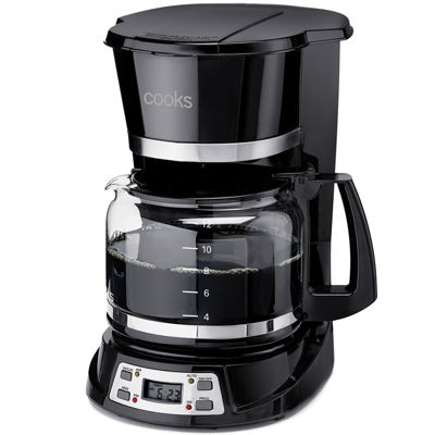 Cooks 12-Cup Programmable Coffee Maker