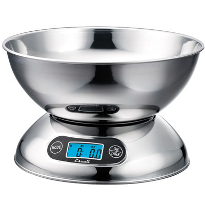 escali rondo stainless steel food scale. Black Bedroom Furniture Sets. Home Design Ideas