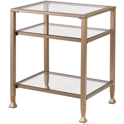 Ithaca glass End Table