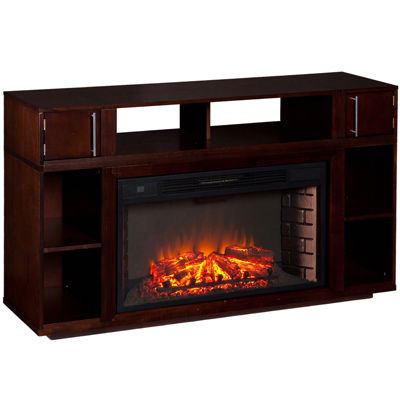 Chesterfield Entertainment Center with Fireplace