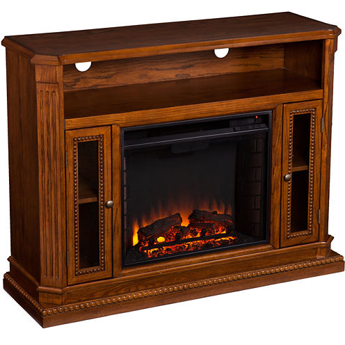Deering Entertainment Center with Fireplace