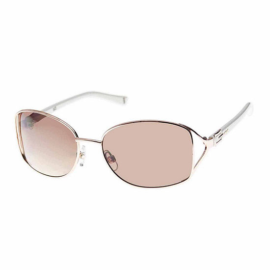 Nicole By Nicole Miller Womens Square UV Protection Sunglasses
