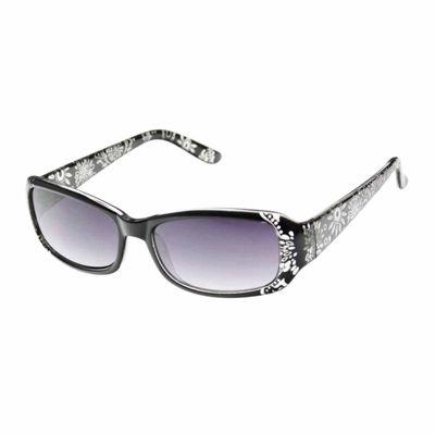 Nicole By Nicole Miller Rectangular UV Protection Sunglasses