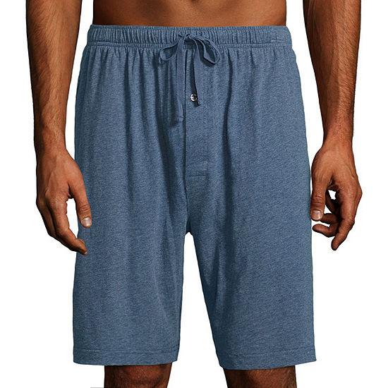 Stafford Mens Knit Pajama Shorts Big Tall