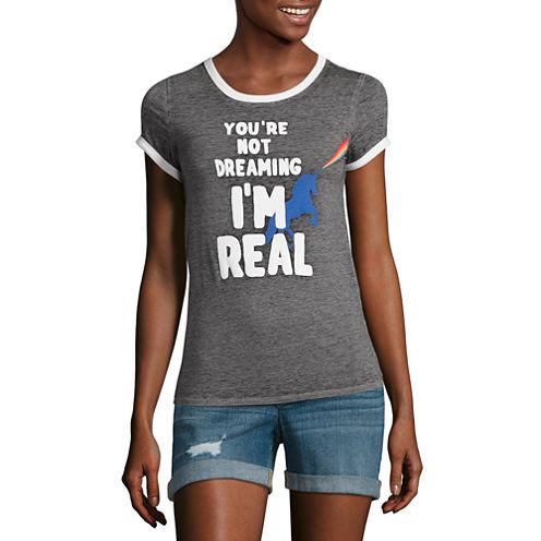 Arizona Unicorn Graphic T-Shirt- Juniors