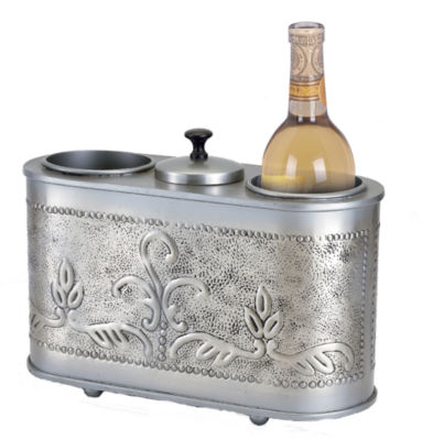 Old Dutch International® Antique Embossed Victoria 2-Bottle Wine Chiller