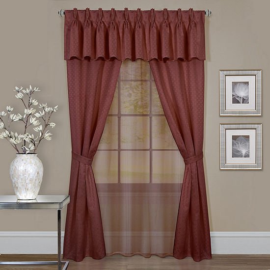 Claire Light-Filtering Rod-Pocket Curtain Panel