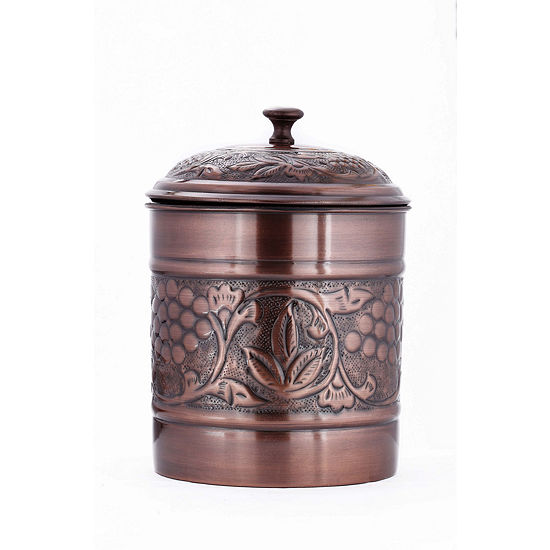 Old Dutch Antique Embossed Heritage Cookie Jar 4 Qt