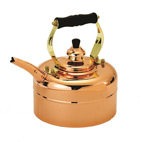 Old Dutch Tri Ply Copper Windsor Whistling Teakettle 3 Qt