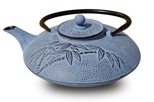Old Dutch 26 Oz Dusk Cast Iron Positivity Teapot