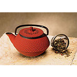 Old Dutch 11 Oz Red Cast Iron Tokyo Teapot