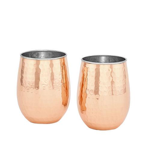 Old Dutch 2pc. Wine Glass