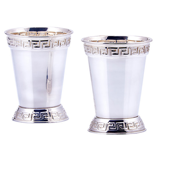 Old Dutch Silver Plated 12 Oz Mint Julep Cups Setof 2