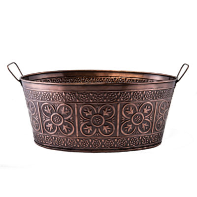 Old Dutch Antique Copper Party Tub 5.5 Gal