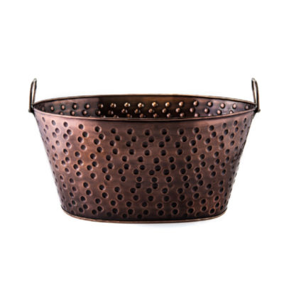 Old Dutch Antique Copper Party Tub 4 Gal