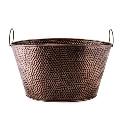 Old Dutch Antique Copper Party Tub 8 Gal