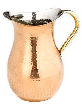 Old Dutch Décor Copper Hammered Water Pitcher 2.25 Qt