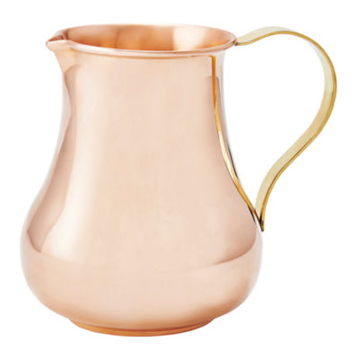 Old Dutch 24 Oz Solid Copper Pitcher