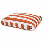 Majestic Pet Vertical Stripe Rectangle Pet Bed