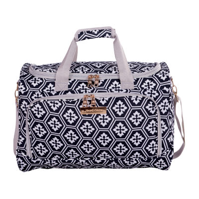 Jenni Chan Snow Flake Duffel Bag