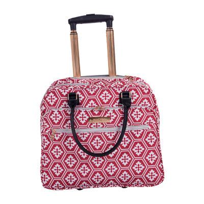 Jenni Chan Snow Flake 16 Inch Lightweight Luggage
