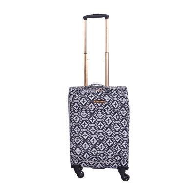 Jenni Chan Snow Flake 20 Inch Lightweight Luggage