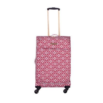 Jenni Chan Snow Flake 24 Inch Lightweight Luggage