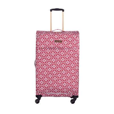 Jenni Chan Snow Flake 28 Inch Lightweight Luggage