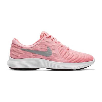Nike Revolution 4 Big Kids Girls Running Shoes Lace-up