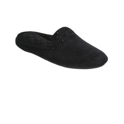 Dearfoams Sparkle Babouche Slip-On Slippers