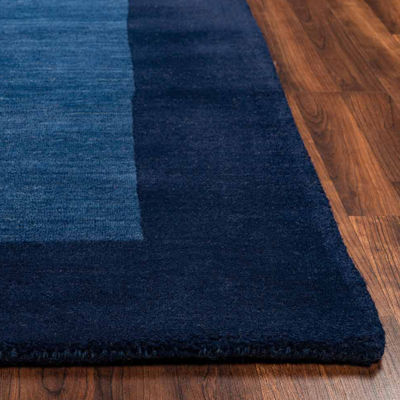 Rizzy Home Platoon Collection Peyton Bordered Rectangular Rugs