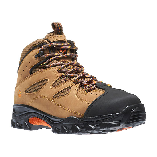 Wolverine Mens Hudson Steel ToeLace-up Work Boots