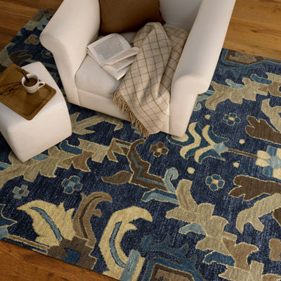 Kaleen Brooklyn Woodsy Craftsman Rectangular Rug