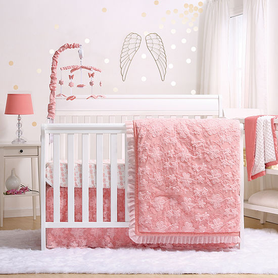 The Peanut Shell Audrey 4-pc. Crib Bedding Set