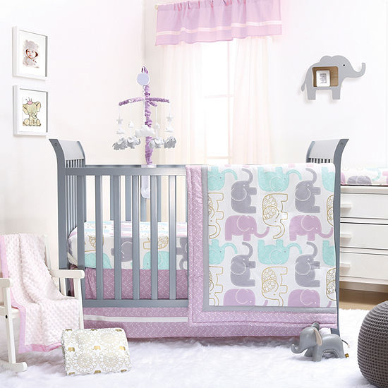 The Peanut Shell Little Peanut 3 Pc Crib Bedding Set