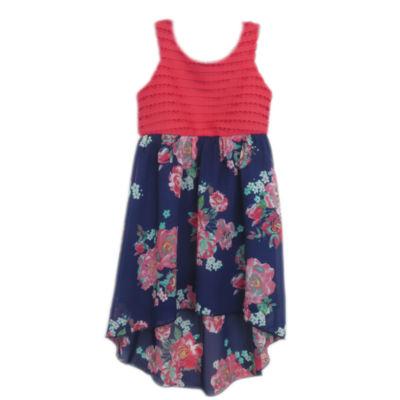 Lilt Sleeveless Floral Maxi Dress Girls