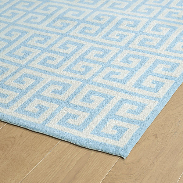 Kaleen Lily & Liam Greek Key Rectangular Rug