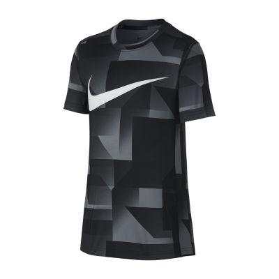 Nike Baselayer Short Sleeve Crew Neck T-Shirt-Big Kid Boys