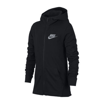 Nike Sportswear Long Sleeve Hoodie-Big Kid Boys