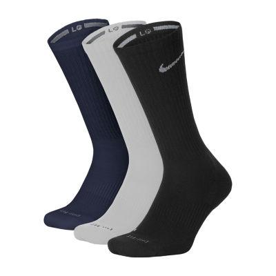 Nike® 3-pk. Mens Crew Socks - Extended Size