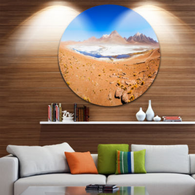 Designart Panoramic View of Laguna Honda SeascapeMetal Artwork