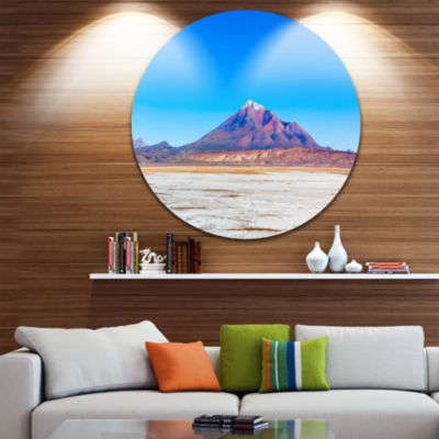 Designart Altiplano near Uyuni Panorama SeascapeMetal Artwork