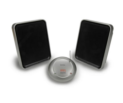 Royal Consumer Products WES600 Wireless Speakers