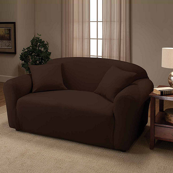 Stretch Jersey Slipcover Loveseat