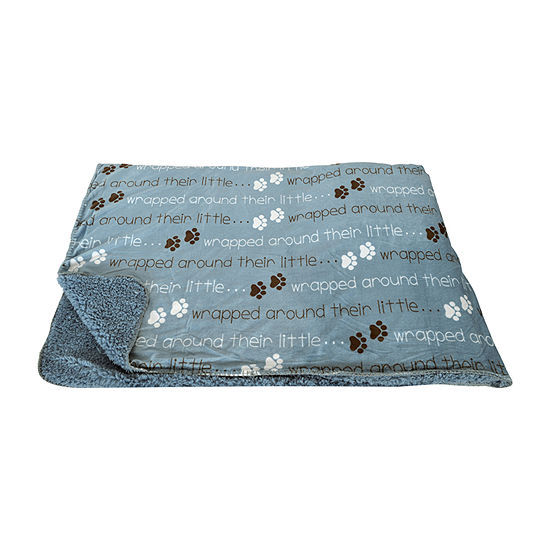 Tammy Paws Micromink Decorative Pet Throw