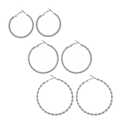 Decree 3 Pair Earring Set