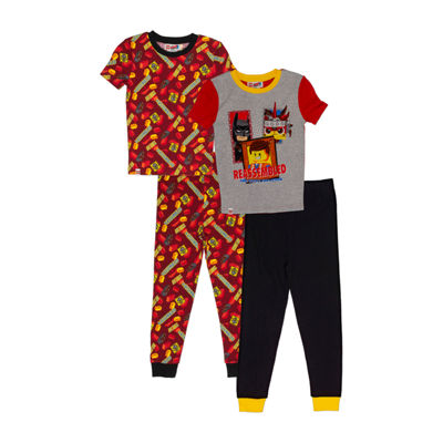 Lego Movie 2 4-pc Pajama Set Boys