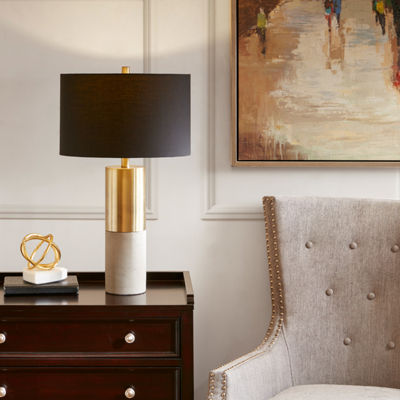 Madison Park Signature Fulton Metal Table Lamp