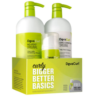 DevaCurl Curly Bigger Better Basics