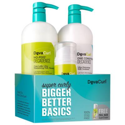 DevaCurl Super Curly Bigger Better Basics